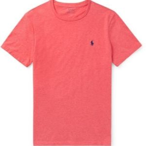 Polo by Ralph Lauren coral Jersey T-shirt